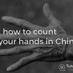 how to count in chinese using hands
