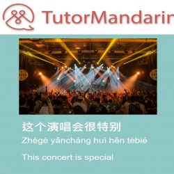 concert in chinese