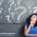 Cantonese vs Mandarin
