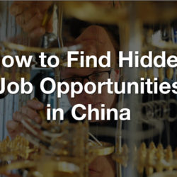 how to find a china based job