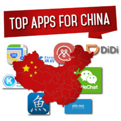 Apps you need to live in China