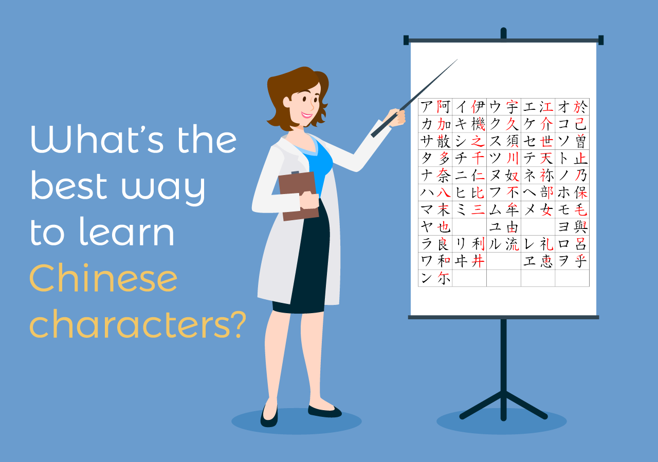 best way to learn Chinese characters